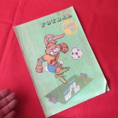 Revista Fotbal Euro 92, revista veche fotbal