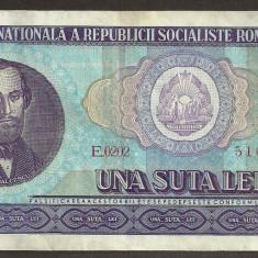 ROMANIA  100 LEI  1966  [3]   XF