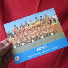 Poza Roma 1989, poza echipa Roma cupa Uefa 88-89