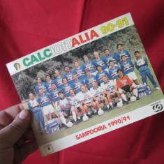 Poza Sampdoria 1990-1991, poza echipei Sampdoria Il Calcio