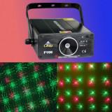 LASER PROFESIONAL DISCO LAYU F100 CU MULTIPLE EFECTE 3D,ROSU/VERDE IDEAL PENTRU CLUB,BAR,DJ,EVENIMENTE.LASER DE PUTERE.