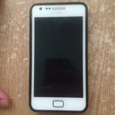 Samsung S2 plus - Telefon mobil Samsung Galaxy S2 Plus, Alb, Neblocat