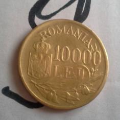 10000 LEI 1947 APR UNC FRUMOASA SUPERBA AURIE/9 - Moneda Romania