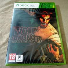 The Wolf Among Us, XBOX360, original si sigilat, alte sute de jocuri! - Jocuri Xbox 360, Actiune, 18+, Single player