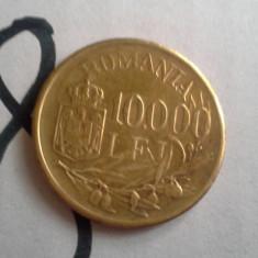 10000 LEI 1947 FRUMOS AURIE /8 - Moneda Romania