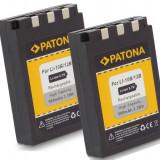 a PATONA   2 Acumulator OLYMPUS LI-10B Li10B LI12B U30 U25 U20 U15 U410 X1 X2 X3
