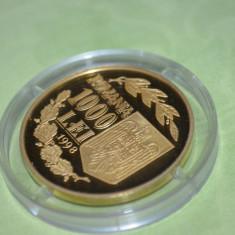 MONEDA DE AUR - Moneda Romania, An: 1998