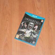 Joc Nintendo Wii U - Injustice: Gods Among Us, nou, sigilat - Jocuri WII U, Actiune, 16+
