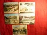 Set 9 ilustrate - orasul ISMAIL , fost ramanesc , anii '50-'70