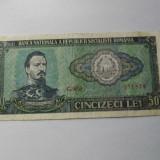 50 Lei 1966 Romania - Bancnota romaneasca