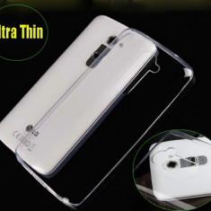 Husa silicon soft transparenta pentru LG Optimus G2 + folie protectie cadou - Husa Telefon LG, Carcasa