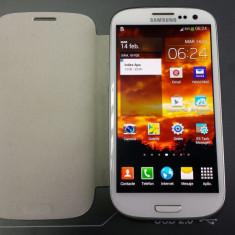 Samsung Galaxy SIII - Telefon mobil Samsung Galaxy S3, Alb, 16GB, Orange, 1 GB, 2G & 3G