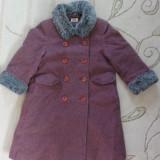 Paltonas de stofa, marca Sweet Pea/ Debenhams, fetite 3-4 ani