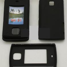 Toc silicon Nokia X3 - Husa Telefon Nokia, Negru, Husa