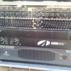 Sistem audio profesional, complet, 4000 watti