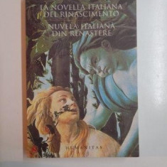 NUVELA ITALIANA DIN NASTERE COLECTIE BILINGVA 2007 - Carte Literatura Italiana