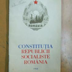Constitutia Republicii Socialiste Romania 1968