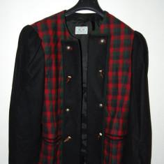 Costum femei, model etno tipic german/austriac, stofa lana, M&G, marime 36 (D) - Costum populare, Culoare: Din imagine