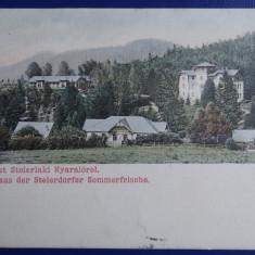 Carte Postala - Anina - Steierdorf - Gruss/ Udvozlet 1908 - Carte Postala Banat dupa 1918, Circulata, Printata