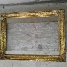 Rama de pictura .in foita, Lemn, Dreptunghiular