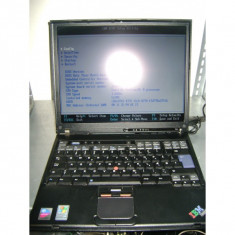 Laptop Second Hand Lenovo ThinkPad T41 - Laptop Lenovo, Sub 80 GB
