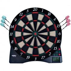 Darts electronic portabil cu afisaj LCD - Dartboard Emprex EES-1001 - Set Darts