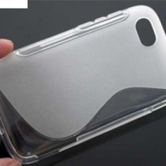 Toc silicon S-Case BlackBerry Q5 - Husa Telefon Blackberry, Transparent, Husa