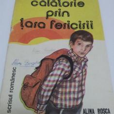 Călătorie prin ţara fericirii, carte de colorat, Alina Roşca 1987