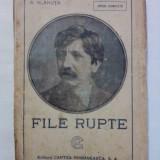 File rupte - A. Vlahuta ( carte veche) / R3P2F