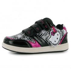Adidasi HELLO KITTY cu licenta MODEL NOU marimi 25 si 27 - Adidasi copii Hello Kitty, Culoare: Multicolor, Fete, Piele sintetica