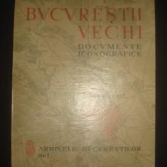 ADRIAN C. CORBU - BUCURESTII VECHI * DOCUMENTE ICONOGRAFICE VEDERI, SCENE PITORESTI, TIPURI SI COSTUME, SCENE ISTORICE (sec. XVII, XVIII, XIX) {1936} - Carte de lux