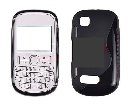 Toc silicon S-Case Nokia Asha 200 / Asha 201