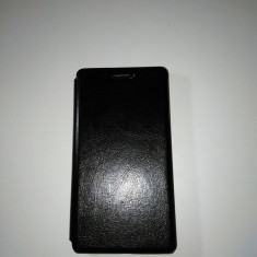 Husa protectie Huawei Ascend g6 ultra slim book, black. - Husa PDA