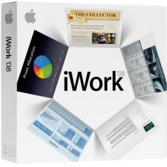 Apple iWork '08 -iWORK 08 - Soft Apple, CD