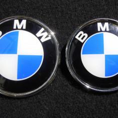 Set 2 embleme BMW fata si spate - Embleme auto, 3 (E46) - [1998 - 2005]