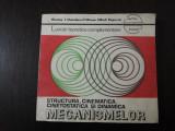 STRUCTURA, CINEMATICA, CINETOSTATICA SI DINAMICA MECANISMELOR -- Nicolae I. Manolescu, Mircea Mihail Popovici -- 1981, 196 p., Alta editura, Nicolae Manolescu