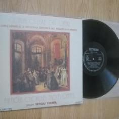 Coruri celebre din opere (vinil Electrecord) - Muzica Clasica