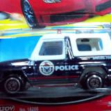 MATCHBOX -SCARA 1/64-DIVERSI PRODUCATORI- POLICE UNIT-MERCEDES G KLASSE++2999 LICITATII !!
