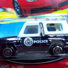 MATCHBOX -SCARA 1/64-DIVERSI PRODUCATORI- POLICE UNIT-MERCEDES G KLASSE++2999 LICITATII !! - Macheta auto