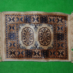Covor / Covoras pentru papusi, tip persan, 36x25 cm, nou, pentru fetite, decor