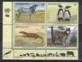 NATIUNILE UNITE - VIENA 1993, Fauna, serie completa neuzata, MNH, Nestampilat