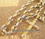 Lant    +medalion INOX placat =80 ron