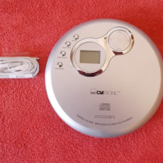 CLATRONIC CDP 604, CITESTE MP3/CD/VCD . - CD player