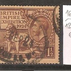 Marea Britanie, expozitia imperiului, 1924, stampilat