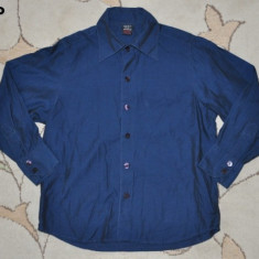 Camasa frumoasa bleumarin, marca NEXT, baieti 5-6 ani