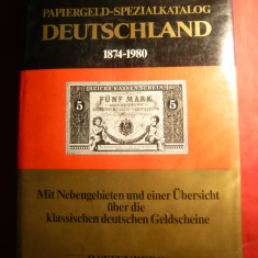 Pick-Rixen - Catalog Specializat Germania - Bancnote 1874-1980-inclusiv Ocupatiile si Statele Germane