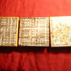 1. Set 3 Cutii pentru Medalii cu d= 6 cm