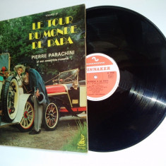 Disc vinil Le tour du monde de papa - Pierre Parachini et son ensamble musette Vol. IV - Muzica Blues