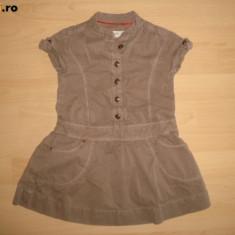 Rochita kaki, ZARA, fetite 3 ani, Culoare: Khaki