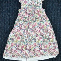 Rochita imprimeu paisley, marca TU, fetite 2-3 ani, Culoare: Multicolor